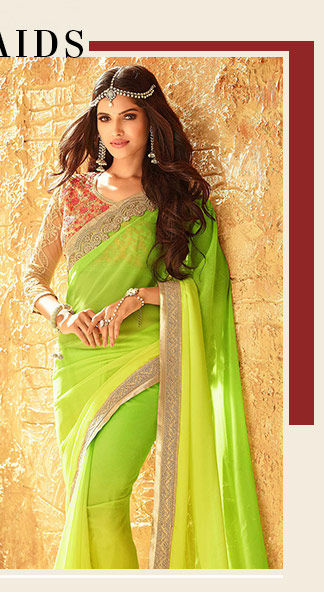A gorgeous array of Ombre Sarees. Shop Now!