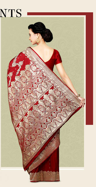 A wide range of Handloom Sarees. Shop Now!