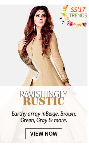 Rustic Trend in natural fabrics like Linen, Silk, Cotton, Raw Silk and Dupion Silk. Shop!