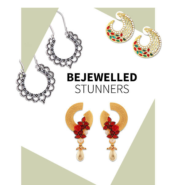 New Arrival in Earrings. Shop Now!