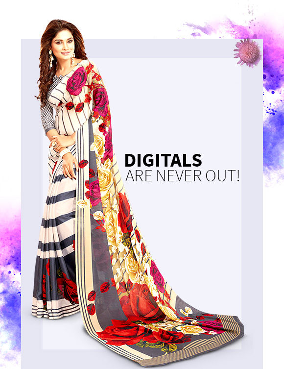 Get Digital Printed Sarees & Salwar Suits. Shop Now!