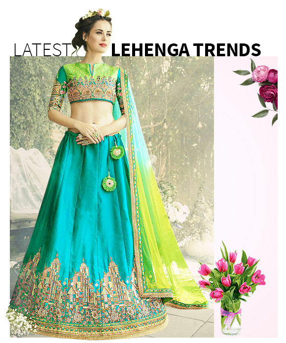 New Arrivals in Lehenga Cholis. Shop Now!