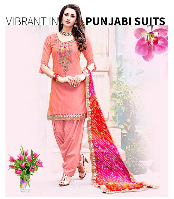 New Arrivals in Punjabi Suits. Shop Now!