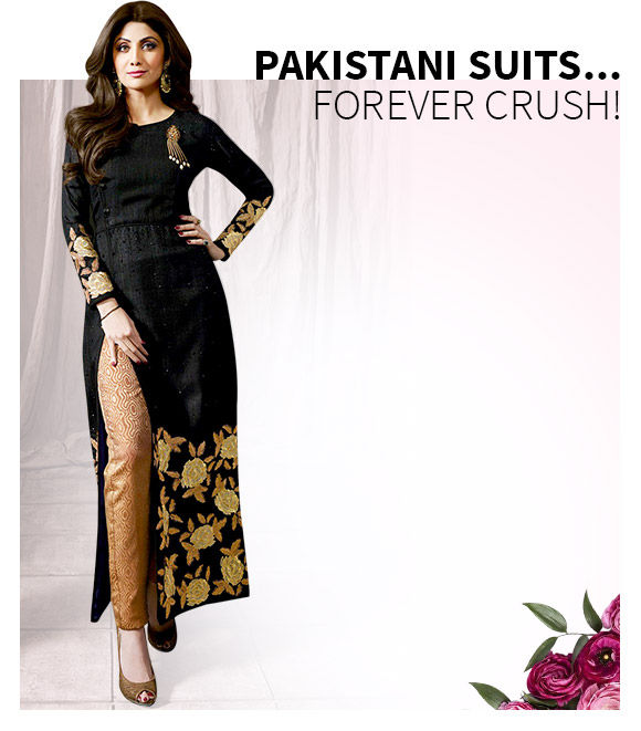 New Arrivals in Pakistani Suits. Shop Now!
