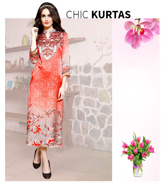 New Arrivals in Kurtas. Shop Now!