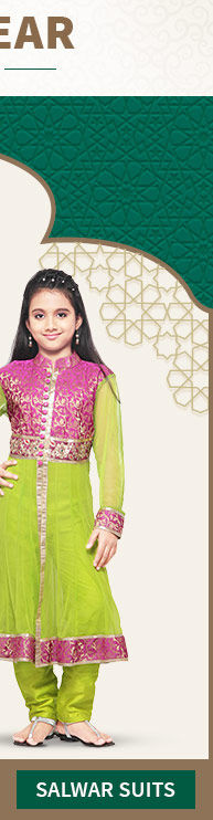 Range of Girls Salwar Suits for Eid. Shop Now!