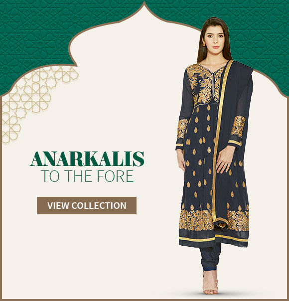 Attractive Anarkalis in bright colours in our Ramadan Collection for women. Shop Now!