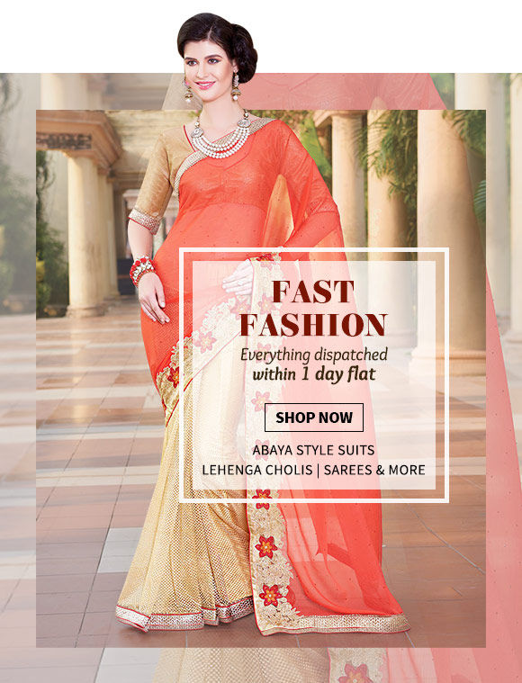 Ready to Ship Collection of Zari Sarees, Straight Suits, Tunics, Menswear & more. Shop Now!