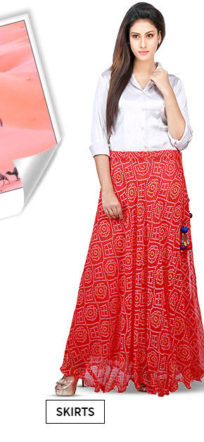 A lovely array of Long Skirts. Shop Now!