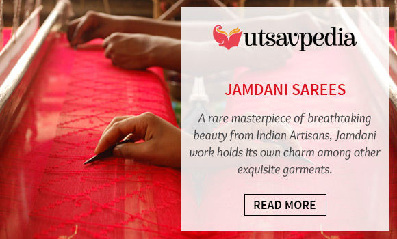 Explore the Jamdani Sarees in Utsavpedia. View Now!