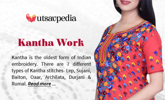 All about Kantha Embroidery. Read here!