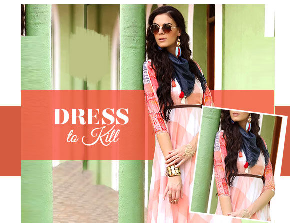 Trending Dresses from Indo Western array. Shop!