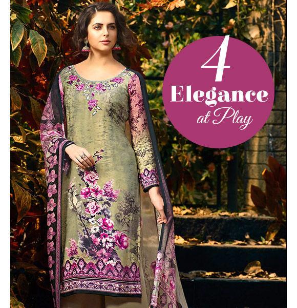 Pakistani Suits in gorgeous designs. Shop!
