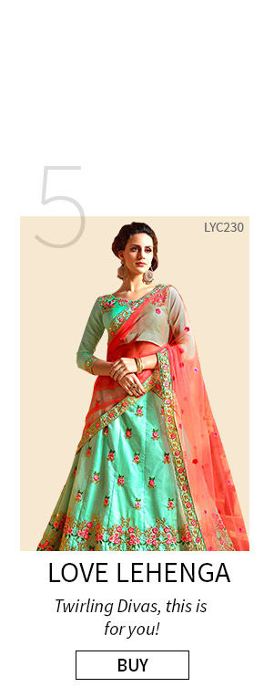 Lehengas for Summer Fashion. Shop!