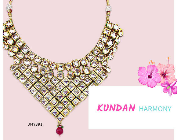 Kundan Jewelry for Mother's Day gifting. Shop!