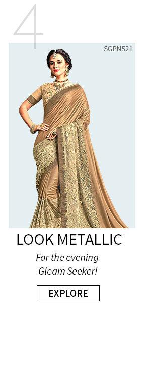 Metallic Wear for Summer Fashion. Shop!