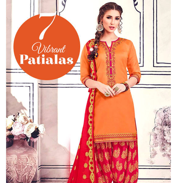 Punjabi Suits in gorgeous designs. Shop!