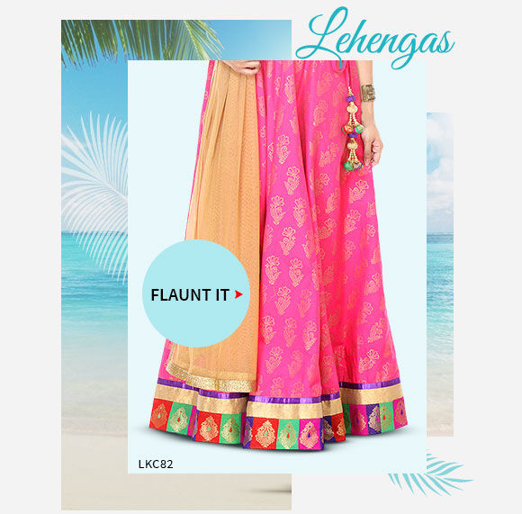 Plus Size in Lehenga Cholis. Buy Now!