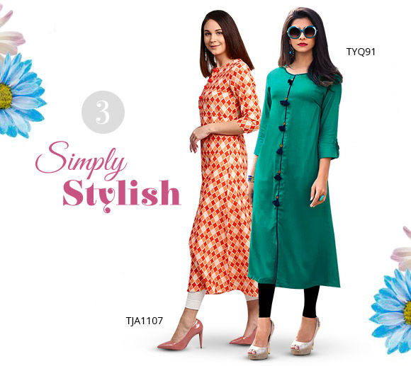 Simple yet elegant Kurtas for Summer. Shop!