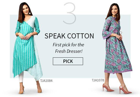 Cotton Wear for Summer Fashion. Shop!