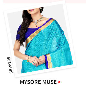 Mysore Silk Sarees with rich motifs. Shop!