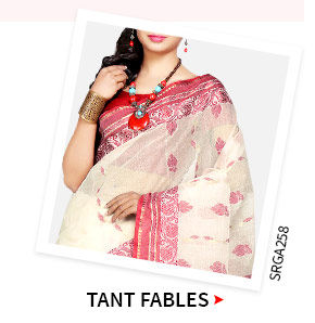 Tant Sarees in beautiful colors. Shop!