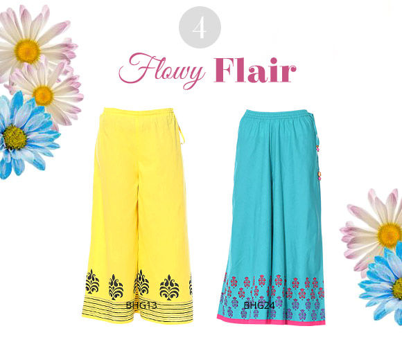 Easy to style Palazzos for Summer. Shop!