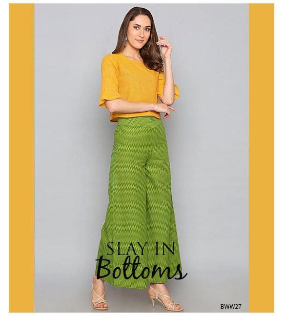 Working from Home Palazzos. Shop!