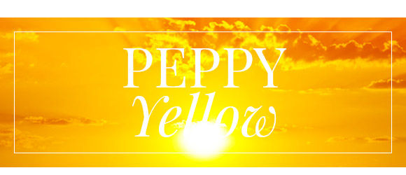 Take a look at these mood-boosting peppy yellow silhouettes.