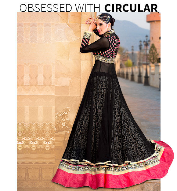 New Arrivals in Circular Lehengas. Shop Now!