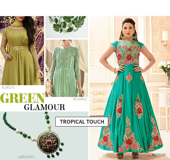 Try green as it is the pantone color of the year.