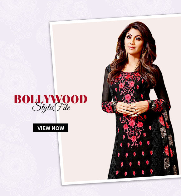 Choose from our wide array of Bollywood-inspired attires. Shop Now!