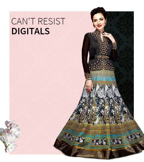 New Arrivals in Digital Printed Salwar Suits. Shop Now!