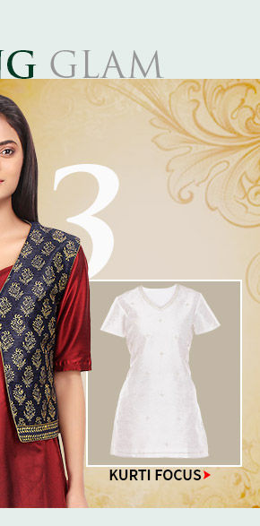 Choose your layering combo from our kurti and jacket collections.