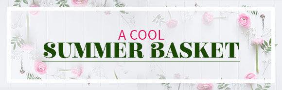 A Cool Summer Basket