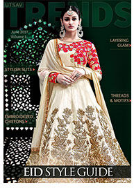 Styles Guide for Eid, Embroidered Chiffons, Pakistani Suits, Layers, Threads and Motifs.