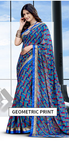 Vacation Closet: Upto 25% Off on Geometric Print Attires. Shop!