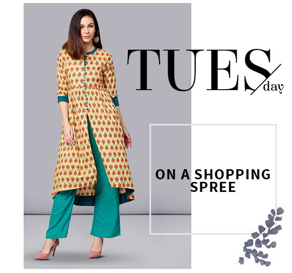 Indo Westerns - Top & Bottom Sets like tops, Skirts, Palazzos and more. Shop!