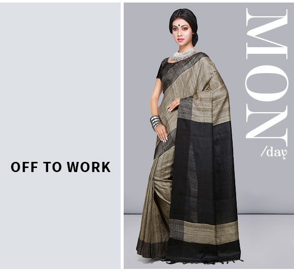 Handloom Sarees - Tant, Jamdani, Madhubani, Bengal Cotton and more. Shop!