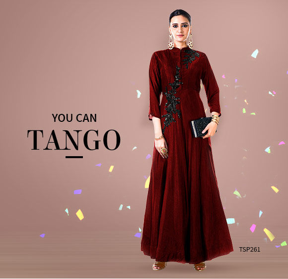 Indo Western Gowns for Parties. Shop!
