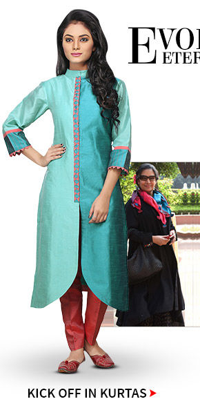 Silk Kurtas in myriad colors. Shop!