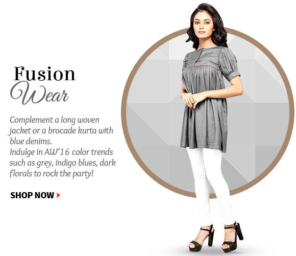 Pick from a wide range of Palazzos, Brocade Jackets, Long Kurtas & more. Shop!