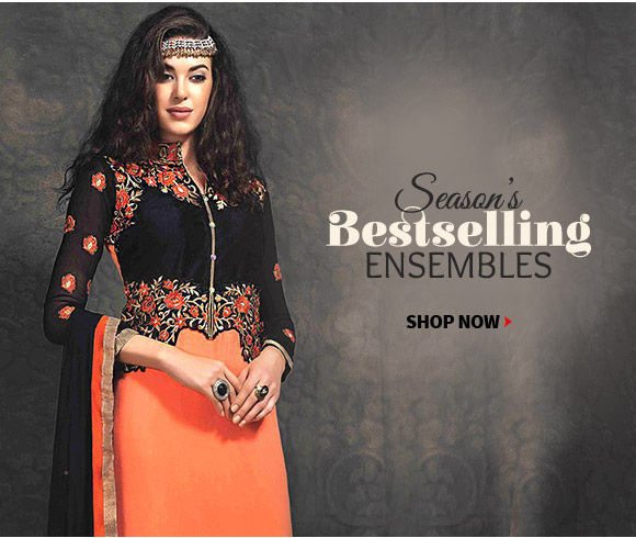 Festive Gifts range from Embroidered Sarees, Earrings & more. Shop!