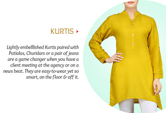 Pick your favorite from our lovely Collection of Kurtis. Shop Now!