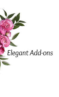 Elegant Add-ons under $99. Shop now!