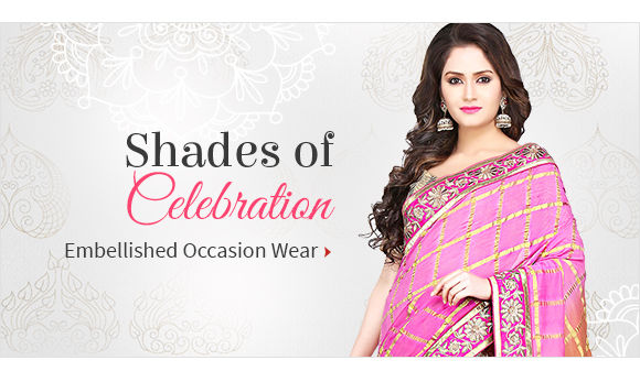 Pick your favorite from our gorgeous Collection of Sarees. Buy Now!