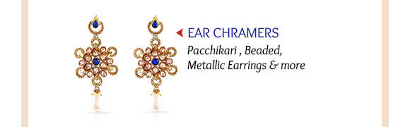 Select from our sparkling range of Earrings. Shop Now!