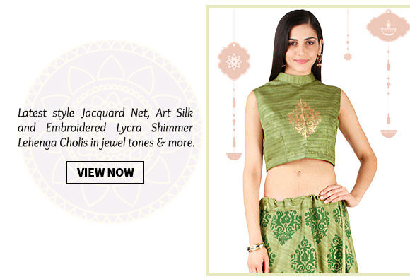 An inspiring range of latest Lehenga Cholis. Buy Now!