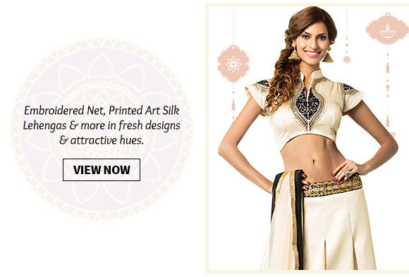 Choose from our wide range of Lehenga Cholis. Buy Now!