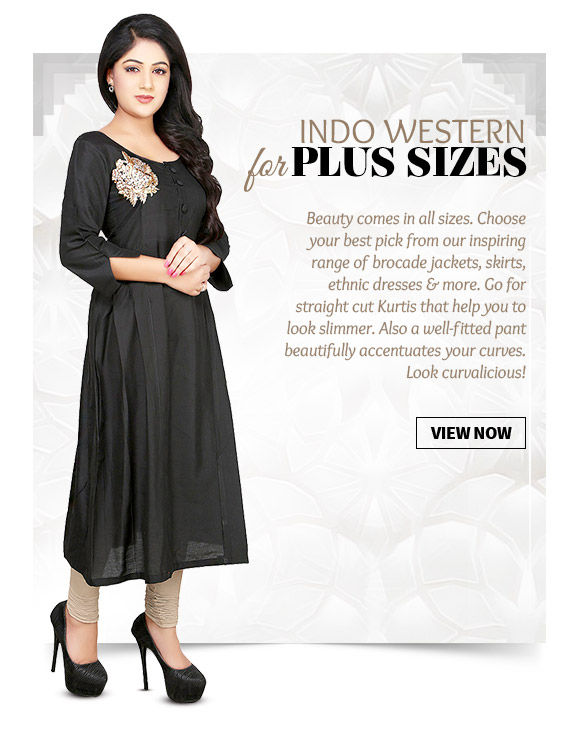 Plus Size Indian Fashion For You